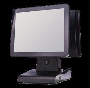 MAY TINH TIEN POS7150 (Sử dụng 2 màn hình)
