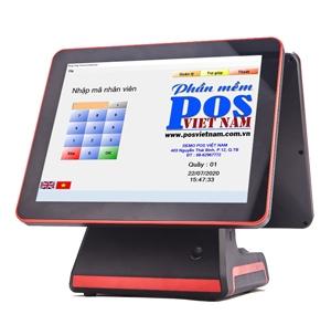 MAY TINH TIEN POS0090 (Sử dụng 2 màn hình)